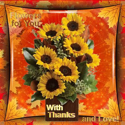 With Autumn Thanks  Free Thank You eCards, Greeting