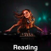 Lady DJ Spinning Discs