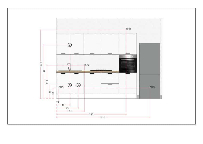 Altezza Cappa Dal Piano Cottura - The Homey Design