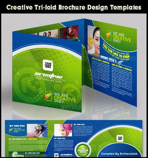 colorful brochure design  coreldraw