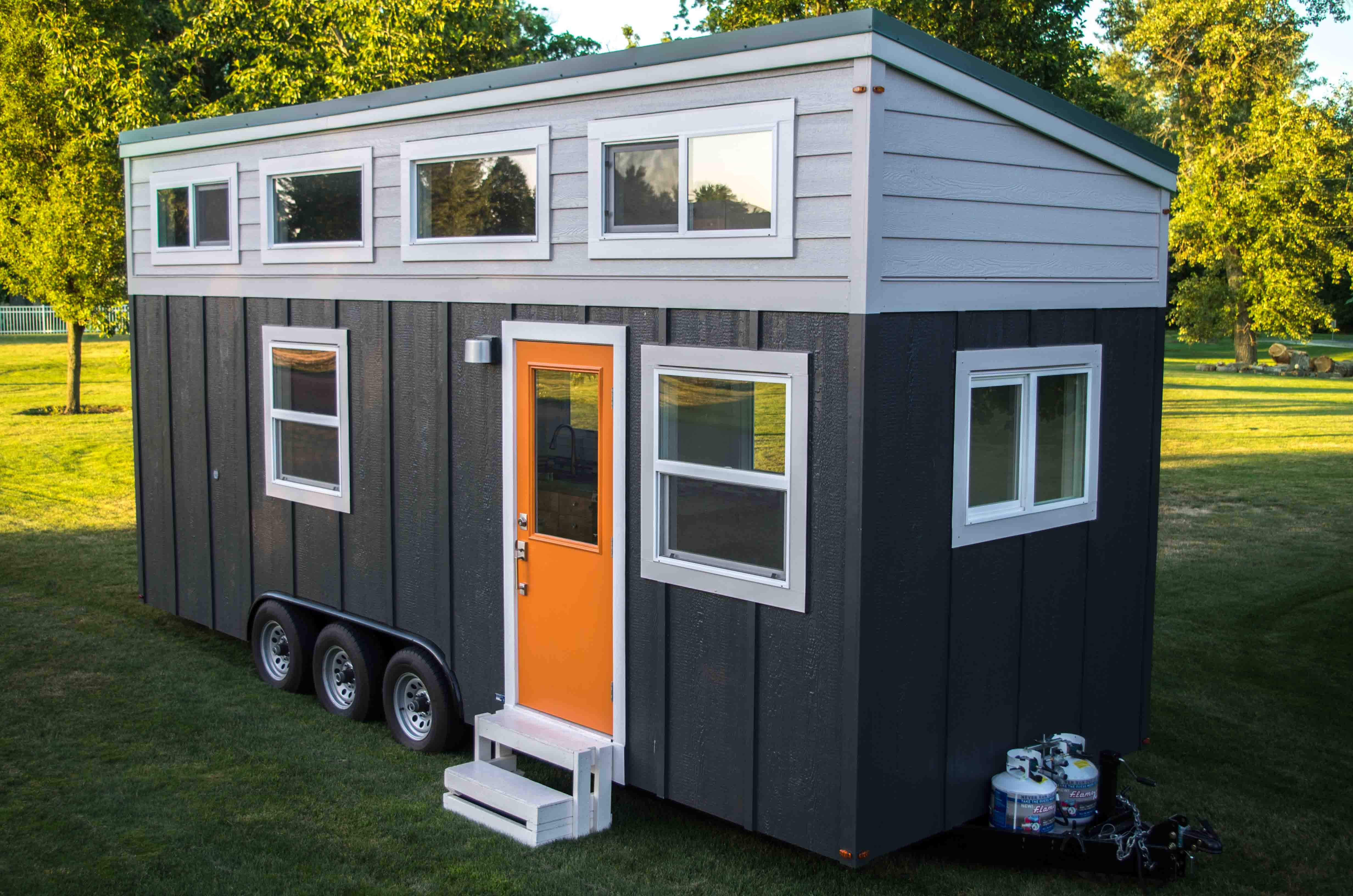 Small House Design: Seattle Tiny Homes Offers Complete Tiny House On Wheels Plans