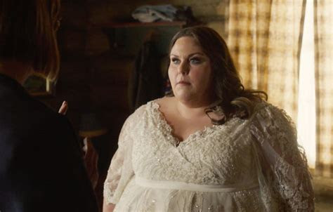 Chrissy Metz wore gorgeous wedding dress on 'This Is Us