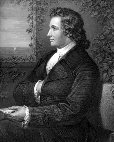 Georg Melchior Kraus: Johann Wolfgang von Goethe