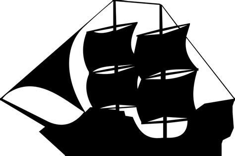 gambar vektor gratis kapal perahu berlayar bajak laut
