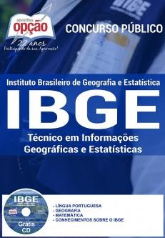 IBGE (Técnico)-TÉCNICO EM INFORMAÇÕES GEOGRÁFICAS E ESTATÍSTICAS