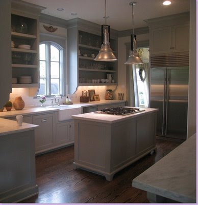 grey kitchens