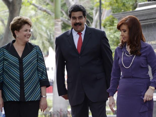 Cristina Kirchner recebeu na terça (29) o apoio do Mercosul no impasse com os fundos especulativos (Foto: AFP)