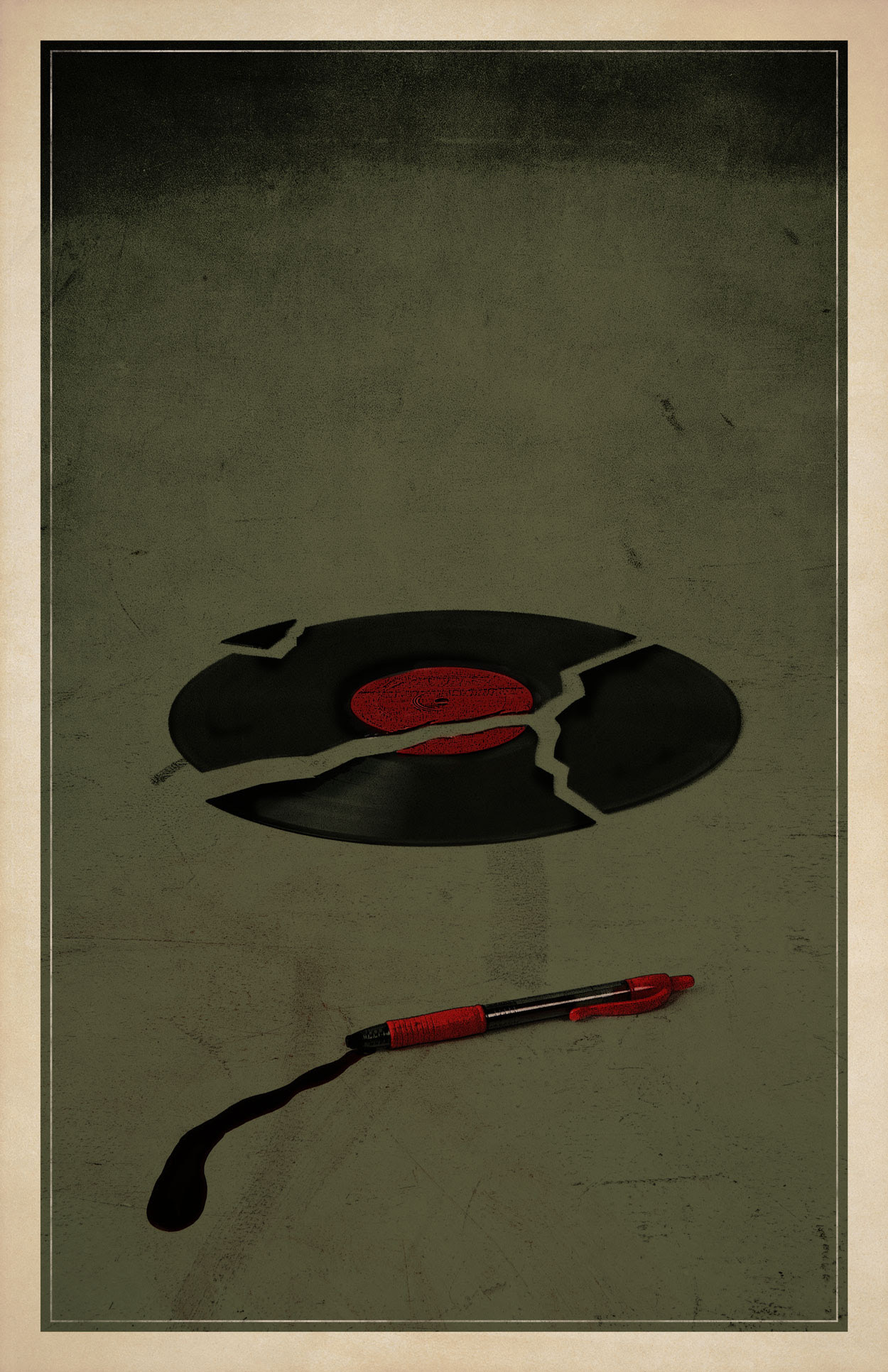 Shaun of the Dead Minimalist Poster