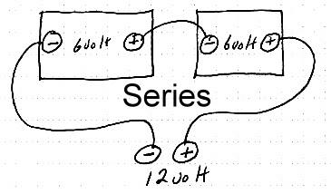 12 volt series wiring