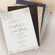 Amazing Beautiful Gold Foil Confetti Elegant Wedding