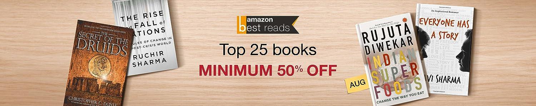 Amazon Best Reads List Aug'16