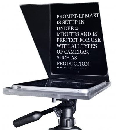 iPad Teleprompter - How to Video Blog