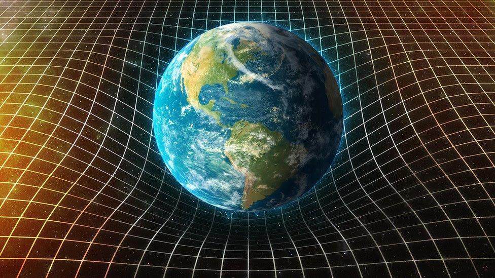 La tierra en el continuo espacio-temporal