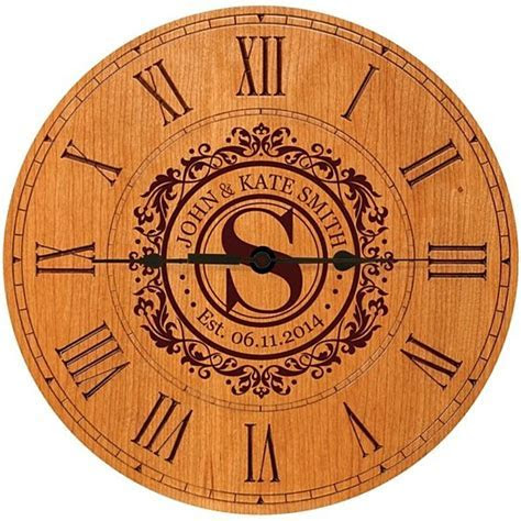 Buy Personalized 50th Wedding Anniversary Clock by Jared