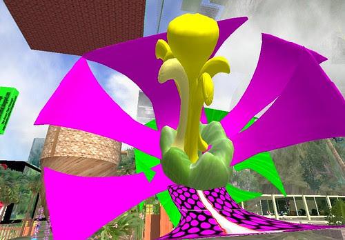 Second Life Flower