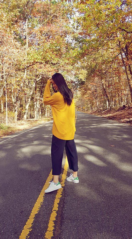 Đông này muốn diện áo len thật thời thượng, hãy học tập từ street style của các người đẹp Vbiz - Ảnh 7.