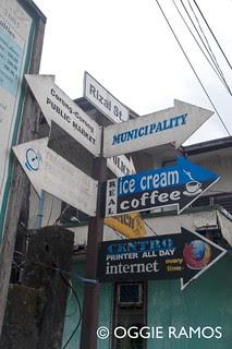 El Nido Rizal Street Signpost