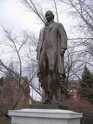 Ira Allen statue, Burlington, VT 20050101