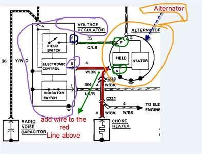 85 F150 Alternator Wiring Diagram - Wiring Diagram Networks
