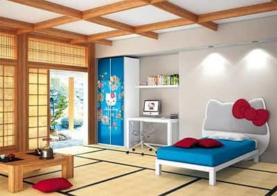 Hello Kitty Oriental by CIA International Srl - Kids bedrooms ...