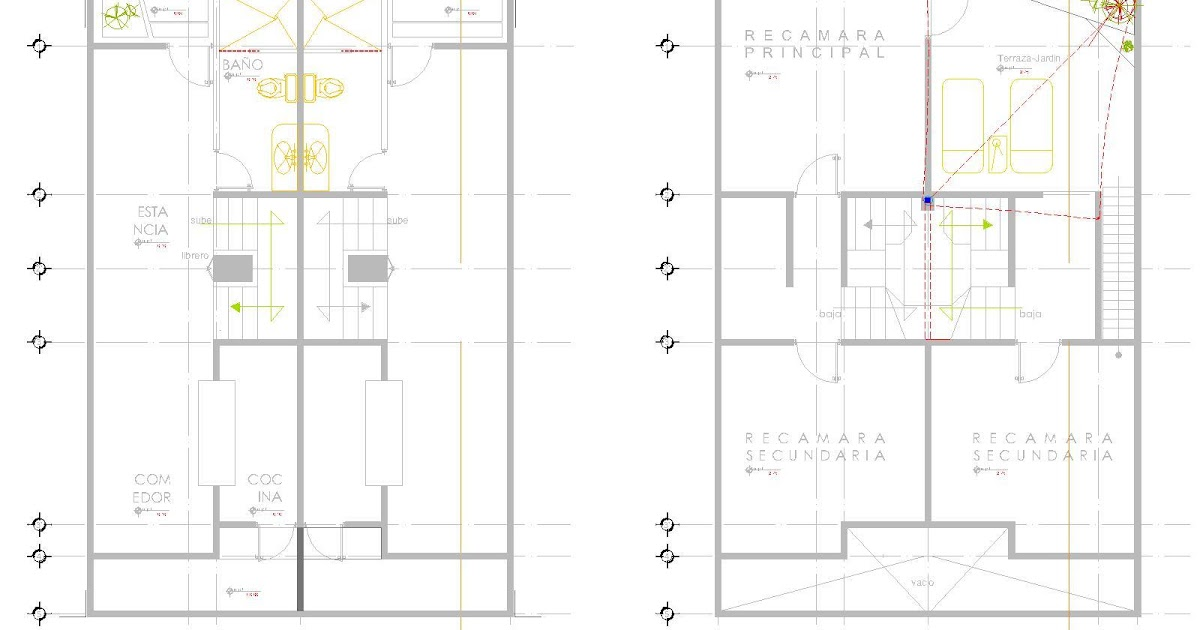 Casa residencial, familiar.: Diseno estructural de casa ... - photo#16