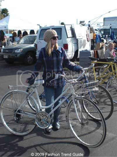 Rose Bowl flea market vintage bike