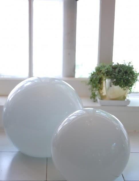Blue velvet chair repurposed light globe turns bird feeder for Repurposed light globes
