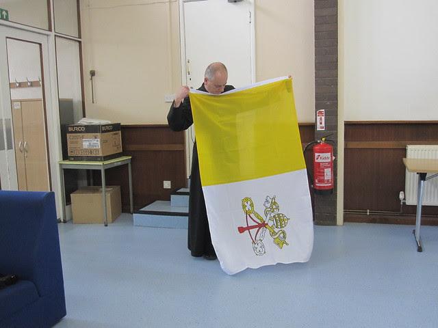 Papal Flag 001