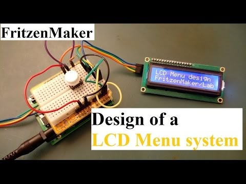 Fritzen Maker: Creating a Menu system on a LCD display