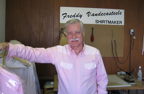 Freddy Vandecasteele & Western shirt
