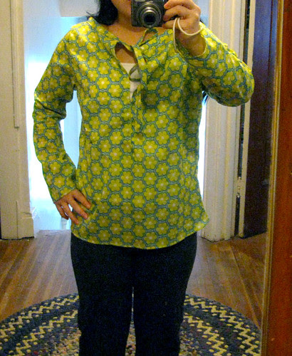 Summer Blouse from Weekend Sewing