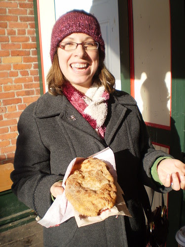 Teri and her Beaver Tail