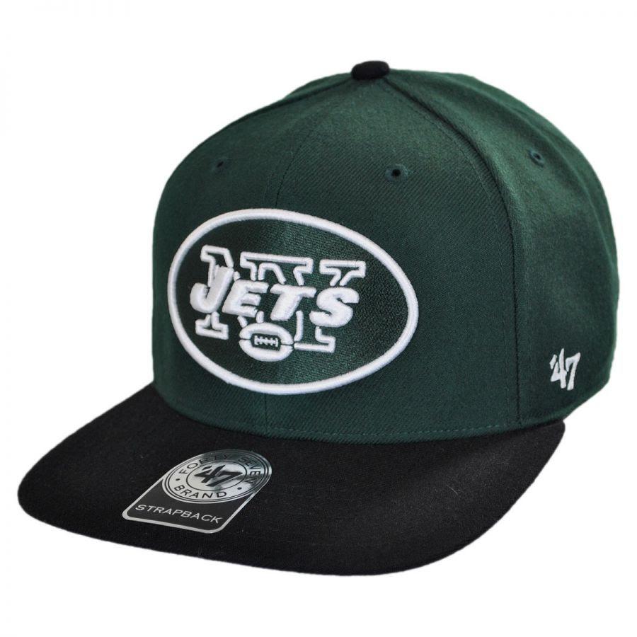 47 Brand New York Jets NFL Sure Shot Strapback Baseball Cap NFL Football Caps
