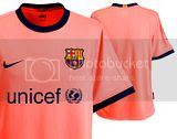 FCBarcelona Jersey for 2009-10 season