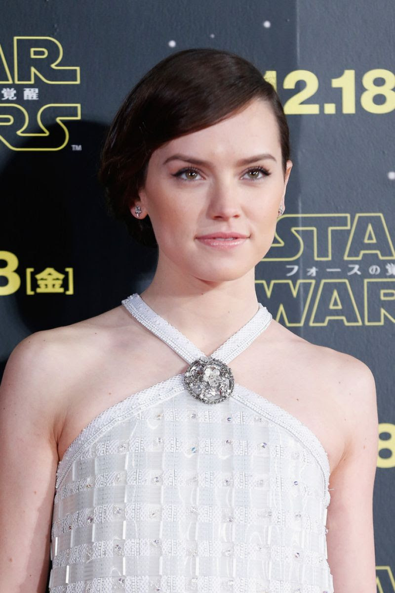 DAISY RIDLEY at Star Wars: Episode VII - The Force Awakens Fan Event in Tokyo12/10/2015