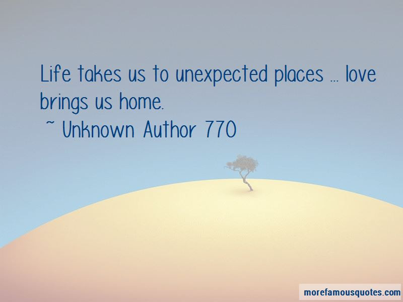Quotes About Love In Unexpected Places Top 7 Love In Unexpected
