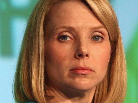 La directora ejecutiva de Yahoo, Marissa Mayer