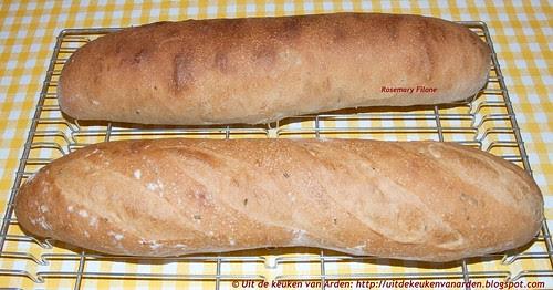 Stokbrood met rozemarijn / Rosemary Filone
