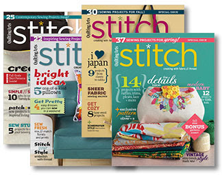 Back Issues of Stitch