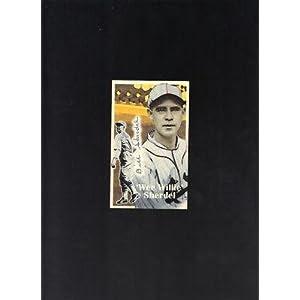 Wee Willie Sherdel 1926 Cardinals signed Art Card JSA - Signed College Cards