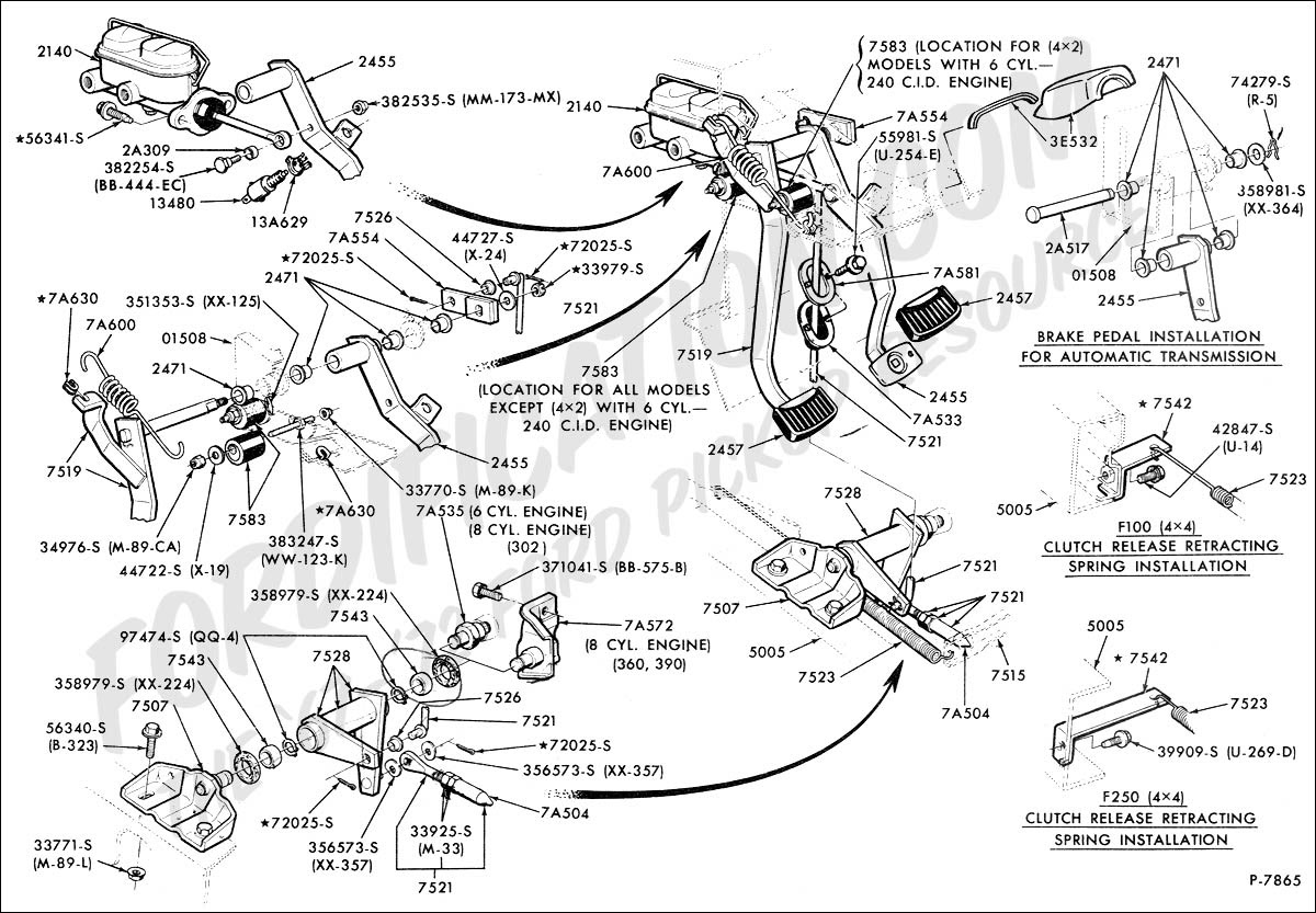 Wiring Diagram  33 Ford F350 Parts Diagram