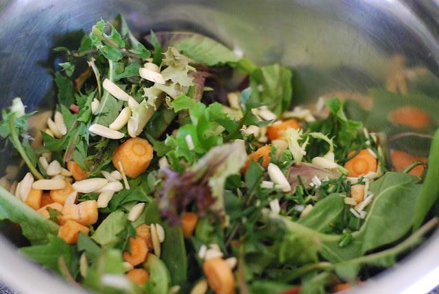 first spring salad