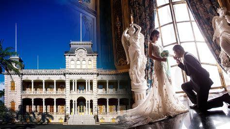 A Royal Wedding at Iolani Palace   Travel To Paradise