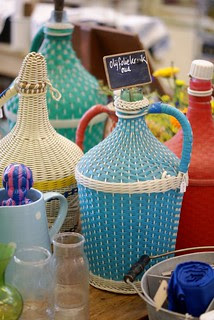 old olive oil jars