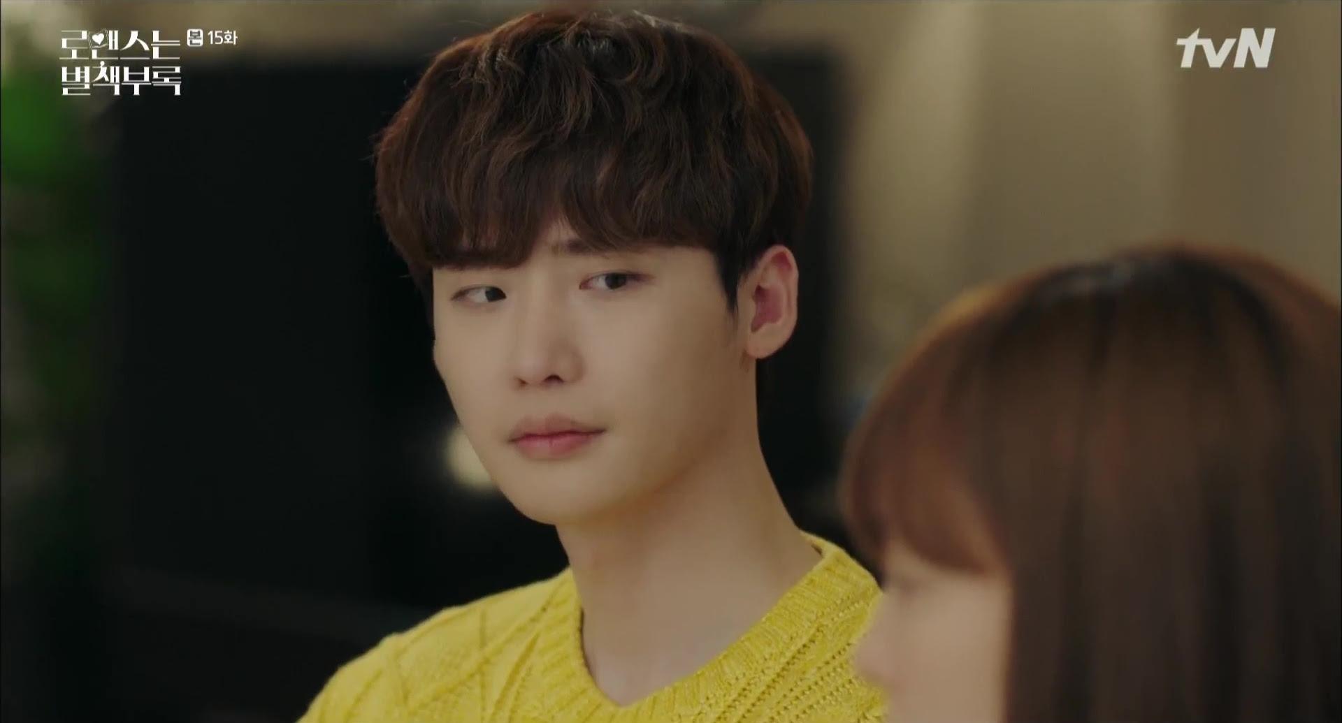 Dan yi berpikir Seo joon adalah putra yang disebutkan oleh Penulis Kang Ha rin menunjukkan bahwa Penulis Kang selalu hidup sendirian dan menyadari Eun ho