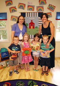 Cazenovia College Education professor Erica V. Miller, Ed.D. (left) and Stefanie Lints, CCP Director (right) are looking forward to providing preschool students at CCCP with multicultural literature and literacy resources this fall.