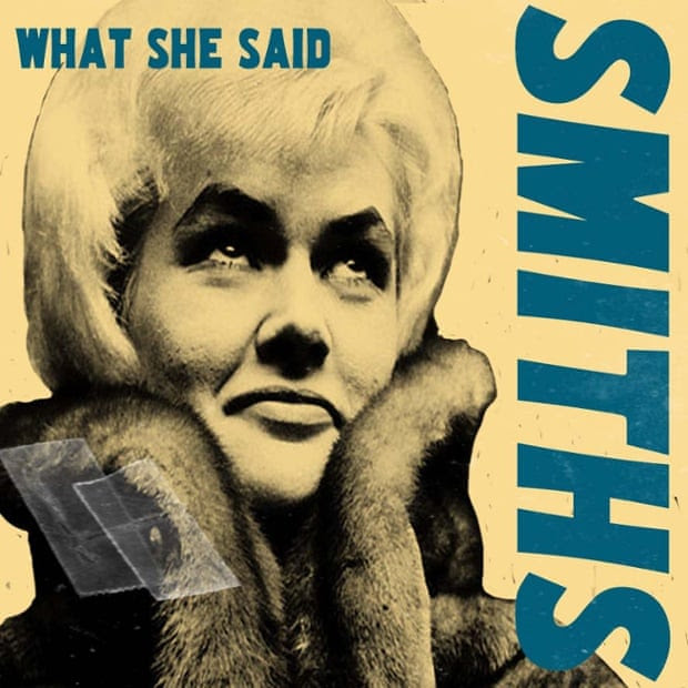 Viv Nicholson on the cover of What She Said by the Smiths