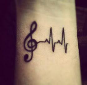 Finger Small Music Note Tattoo Tattoomagz
