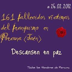 Porcuna: las cifras de la represión franquista