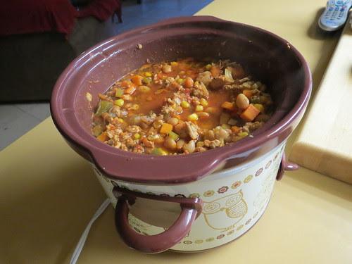 Vegetable Chili Con Carne